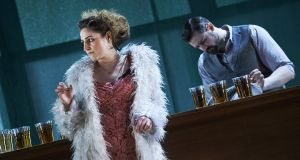 Nyree Yergainharsian as Rosie Redmond in The Plough and the Stars  at the Abbey Theatre. Photograph: Ros Kavanagh
