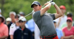 Rory McIlroy will play Thorbjorn Olesen, Kevin Na and Smylie Kaufman in the WGC Matchplay in Texas. Photograph: Getty