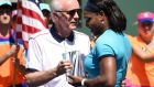The CEO of Indian Wells Raymond Moore has stepped down from his role after comments he made about women's tennis. Photograph: Afp