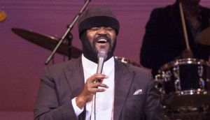Gregory Porter: influenced by Nat King Cole, Marvin Gaye and Donny Hathaway. Photograph: Santiago Felipe/Getty Images