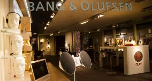 Shares in Bang & Olufsen, known for its sleek designs and televisions costing up to 60,000 Danish crowns (€7,500), have fallen 15 per cent in the year to date.
