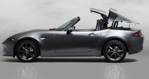 Mazda MX-5 Retractable Fastback: comes in 1.5 or 2.0-litre engine options and with an optional automatic gearbox version