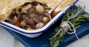 Vanessa Greenwood's Irish  porter lamb pie