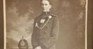 Capt Percival Lea-Wilson of the Royal Irish Rifles, who was assassinated in 1920 in revenge for his role in suppressing the 1916 Rising in Dublin
