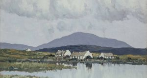 'A Connemara Village' by Paul Henry, from the collection of the former Fine Gael taoiseach John A Costello, sold for €119,000 at Adam's. The estimate was €70,000-€100,000