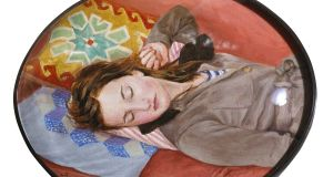 Detail from Dreamer by Liz Rackard