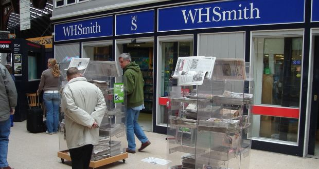 Wh smith ireland books higher sales and profits wh smith operates bookstores at dublin and shannon airports solutioingenieria Images