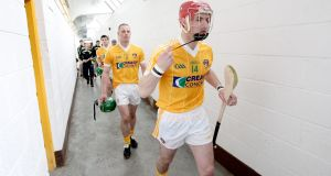 Liam Watson had not played for Antrim since 2012 but last week opted out of the squad for the 2016 season. Photograph: Inpho.