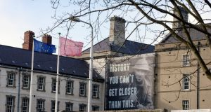 The Museum of Decorative Arts and History at Collins Barracks in Dublin was closed on Good Friday, but will open on Easter Monday. Photograph: Brenda Fitzsimons/The Irish Times