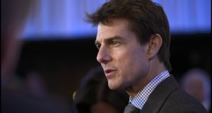 Hollywood star Tom Cruise: actor is among the high-profile names associated with the Church of Scientology. Photograph: Brenda Fitzsimons