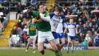 David Moran's Kerry turned things up a notch in the second half against Monaghan. Photograph: Inpho