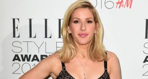 Ellie Goulding has been  added to the extended line-up for the Glastonbury festival at Worthy Farm in June. Photograph: Ian West/PA Wire