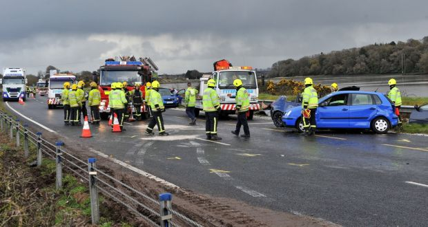 Up to 14 vehicles involved in Cork collision