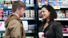 Potential overseas sales: Emmet (Daithí MacSuibhne) and Ama (Donna Anita Nikolaisen) in RTÉ's drama Fair City.