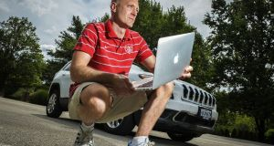 Last July Fiat Chrysler recalled 1.4 million cars and trucks in the US equipped with radios that were vulnerable to hacking. Wired magazine published a story about software programmers who were able to take over a Jeep Cherokee being driven on a Missouri highway. The two hackers, Charlie Miller (above) and Chris Valasek, allowed journalist Andy Greenburg to drive the Cherokee before remotely turning on the windscreen washers and wipers, cranking up the sound system, shutting off the engine on a highway, taking control of the steering wheel and disabling the brakes. Photograph: Bill O'Leary/Washington Post via Getty Images