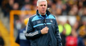 Dublin manager Ger Cunningham: will be aiming to lead his charges to victory over Limerick at Parnell Park on Saturday. Photograph: Cathal Noonan/Inpho