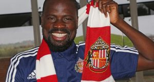 Emmanuel Eboué's Sunderland contract has been terminated. Photograph: Getty