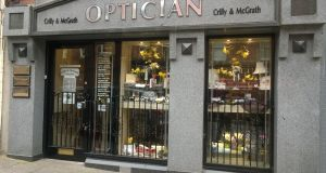 Everyone from OAPS to long-haul truckers have their eyes tested at opticians Crilly & McGrath