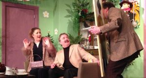 Corofin Dramatic Society's production of 'A Day In The Death Of Joe Egg', by Peter Nichols. Photograph: John Kelly