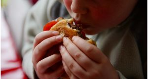 Ireland is set to become the most obese country in Europe, with the UK, within a decade, according to a study. File photograph: Bryan O'Brien/The Irish Times