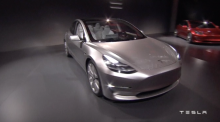 Premium car manufacturer Tesla unveils $35,000 car