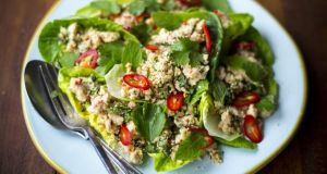 Donal Skehan: Thai chicken salad (larb gai)