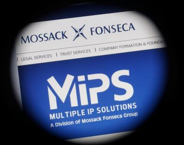 The Panama Papers consist of millions of files leaked from the database of the Panama-based law firm Mossack Fonesca. Photograph: Wolfgang Rattay/Reuters