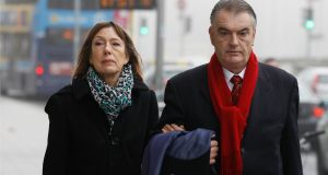 The contempt proceedings brought against 'Phoenix' magazine by the Garda Commissioner and State arise from two articles related to the failed civil action by Ian Bailey over the conduct of the Garda investigation into the 1996 murder in Cork of French filmmaker Sophie Toscan du Plantier. Photograph: Courts Collins.