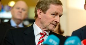 Acting Taoiseach Enda Kenny will meet Micheál Martin after the Dáil vote for taoiseach. Photograph: Cyril Byrne