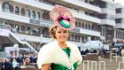 "Jennifer Wrynne at Cheltenham last year. Winning Best Dressed Lady at the races was ""a major coup"""