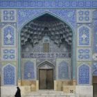 The Sheikh Lotf Allah Mosque in Isfahan