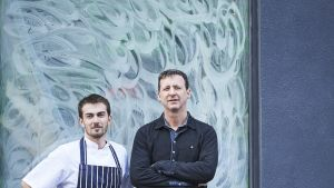 "Russell Wilde, Owner Manager and David O'Byrne, Head Chef, at  ""Richmond"" restaurant in Portobello Dublin. Photo credit Ros Kavanagh"