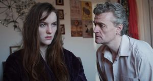 Rachel Reid (played by Ann Skelly) is confronted by her father Liam (Anthony Brophy) in a forthcoming episode of 'Red Rock'