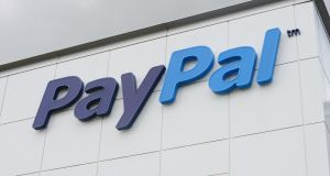 PayPal isn't at all bothered to have Saudi Arabia as one of the countries in which it offers its services.Photograph: Alan Betson