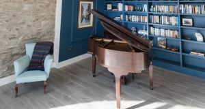 The music room in the coachhouse