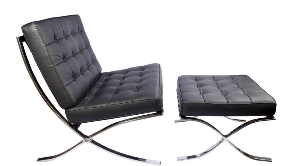 Design Moment Barcelona chair c1929