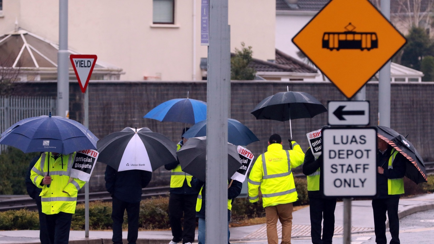 Luas workers announce six more days of strike action