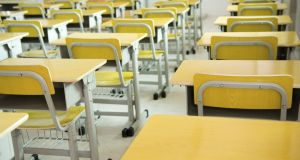 Empty desks: Schools are obliged to alert Tusla, the Child and Family Agency, if a child has missed out on more more than 20 school days a year. Photograph: Thinkstock