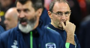 Martin O'Neill's Ireland are now ranked 31st in the world. Photograph: Getty Images