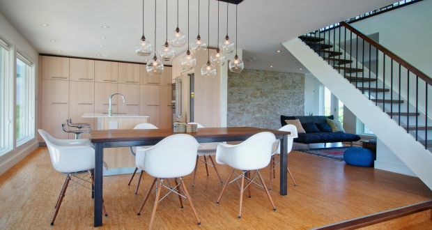 Contemporary Dining Room Featured On The Houzz Site