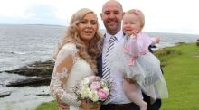 Our Wedding Story: Baby makes it for the big day