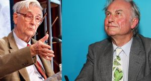 EO Wilson and Richard Dawkins: had a disagreement about evolution