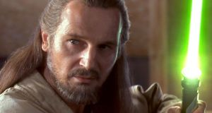 "Qui-Gon Jinn: ""You can type this shit but you can't say it,"" Harrison Ford told George Lucas when staring in the original Star Wars. In The Phantom Menace (1999) Liam Neeson can not only say it but he can even make the words sound like they make sense, all while rocking the top-knot of a Jedi-Master."