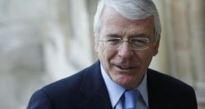 "John Major said he had ""not a shred of doubt"" that Britain should remain part of the EU"