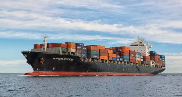Largest container ship to visit Ireland to dock in Port of Cork