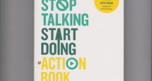 Stop Talking, Start Doing Action Book by Shaa Wasmund is priced €14.99