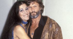 Rita Coolidge and Kris Kristofferson in 1977. Photograph: by Ron Galella/WireImage