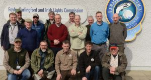 Foyle angling coaches. Photograph: Gardiner Mitchell, courtesy of Loughs Agency