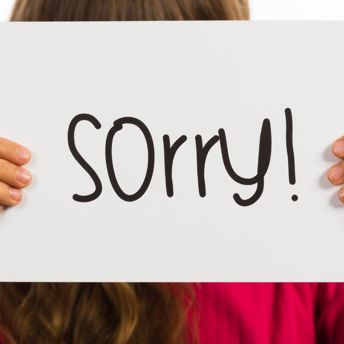 Coping: Cop-out apologies are best left behind in childhood