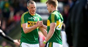 Kieran Donaghy: has added his substantial presence to Kerry's options at centrefield. Photograph: Cathal Noonan/Inpho